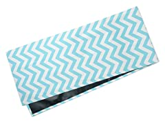 Chevron Table Runner-Aqua