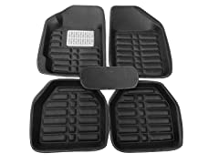5-Piece Universal Fit Floor Mats (Black)