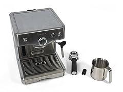Breville 15 Bar Triple-Prime Die-Cast Espresso & Cappuccino Maker