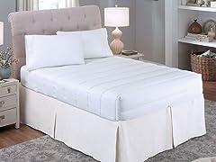 Bedsack Four Sided Luxury Loft Mattress Pad