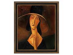 Modigliani - Portrait of Woman in Hat