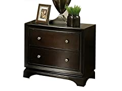 Kingston 2 Drawer Nightstand