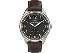 Timex Waterbury Men's Leather Watch