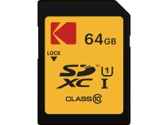 Kodak SDXC 64GB UHS-I U1 Memory Card