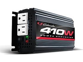 Schumacher 410 Continuous Watts, 820 Peak Power Converter