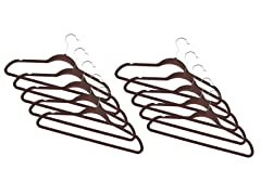 Chocolate Fleece Hanger 120-Pack