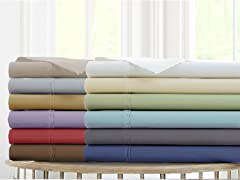 Amrapur Overseas Deep-Pocket Ultra-Soft Solid Sheet Set