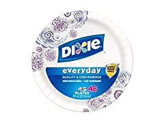 Dixie Everyday Printed Plates, 8.5 Inch