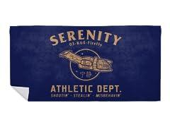 """Sci-Fitness - Serenity"" Beach Towel"