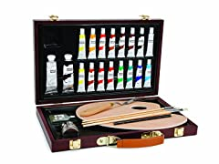 Darice Studio 71 Painting Set- Wood Box