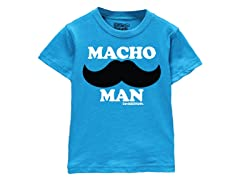 Boys Toddler Tee - Macho Man (2T-5/6T)