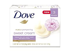Dove Beauty Bar, Sweet Cream & Peony