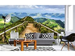 Walking Path Wall Mural