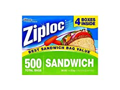Ziploc Easy Open Sandwich Bags