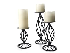 Hearthstone Twisted Wire Candleholders