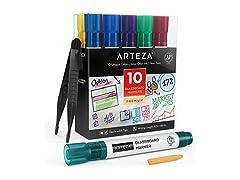 Arteza Glass Board Dry Erase Markers