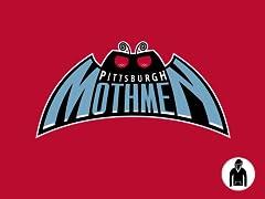 Pittsburgh Mothmen Pullover Hoodie