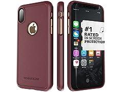 iPhone X Case Plum