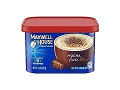 Maxwell House Instant Mocha Latte Coffee
