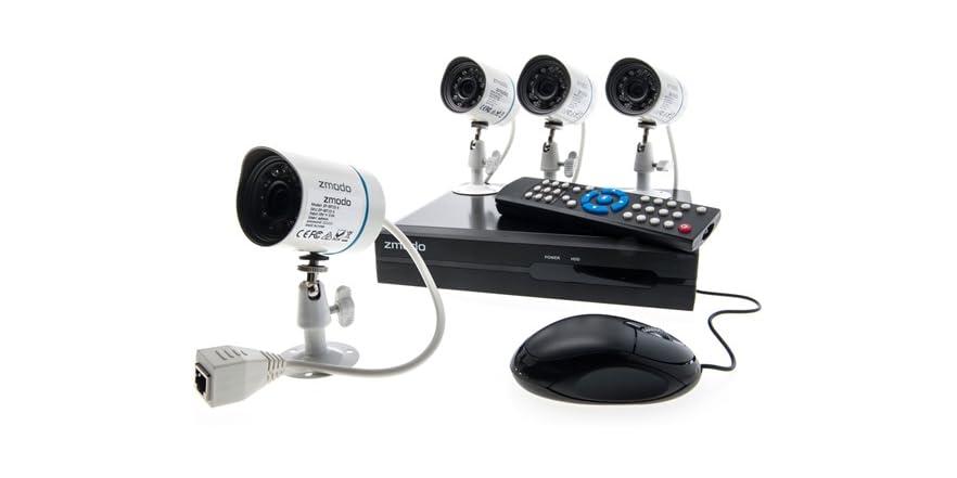 Zmodo 4-Channel All-in-One sPoE NVR Kit