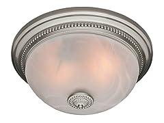 Ashbury Bath Fan, Brushed Nickel