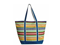 Large Tote-Blue