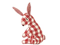 Mini Bunny Rattle - Red