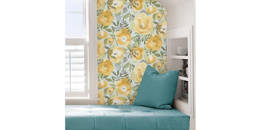 Keen Yellow Peel & Stick Wallpaper
