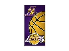 "Los Angeles Lakers ""Emblem"" Beach Towel"