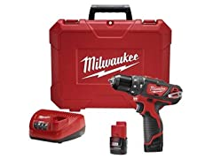 "Milwaukee M12 3/8"" Hammer Drill/Driver Kit"
