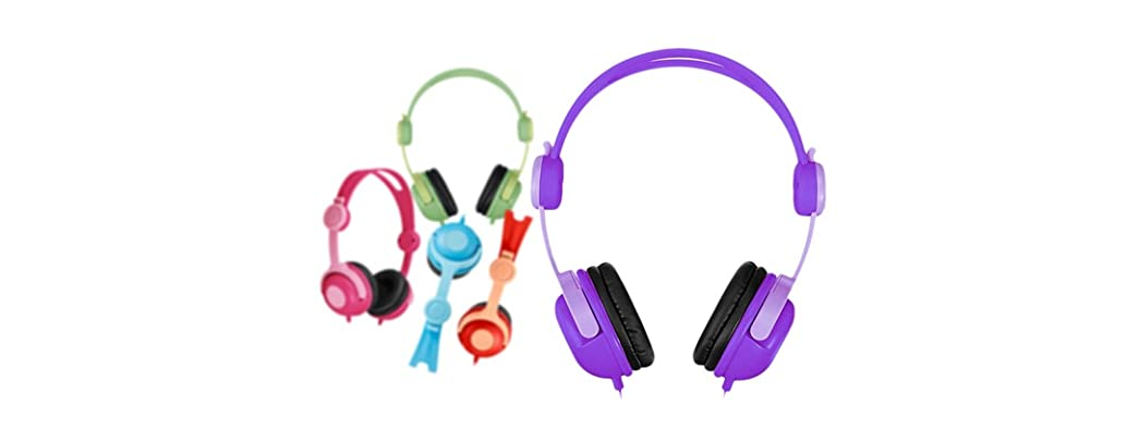 Kids' Adjustable Headphones - 5 Colors