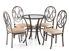 Lucianna Chair Set 4pc.