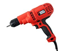 Black & Decker Corded Drill/Driver with Bag