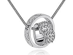 Swarovski Elements Halo Necklace