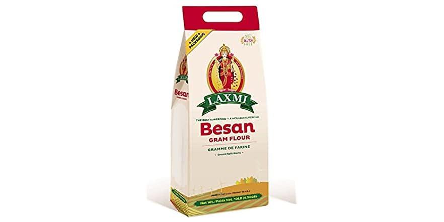 Freshly Milled Besan Gram Flour (Chickpea Flour) - 10lb   WOOT