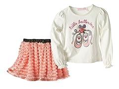 Top & Skirt Set- Little Ballerina (4-6X)