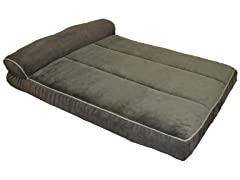 J&V Textiles Orthopedic Sofa-Style Pet Bed