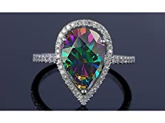 4.00 CTTW Genuine Gemstone Ring