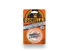 Gorilla Tough & Clear Mounting Tape, Double-Sided