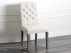 Colin Dining Chair, Cream