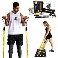 BodyBoss Portable Gym Home Workout Package + Extra Set of Resistance Bands