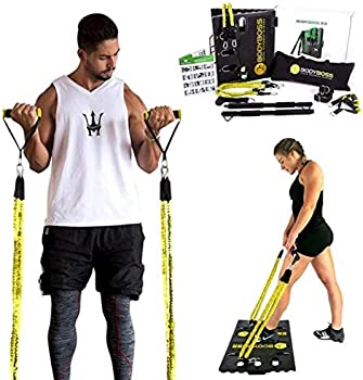 BodyBoss Portable Gym Home Workout Package + Extra Set of Bands