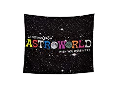A-S-T-RO-WO-RLD Tapestry