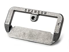 4-Inch Hinge Butt Marker, Silver