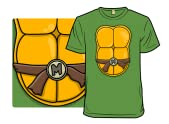 Orange Turtle Costume
