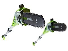 Greenworks Cordless Lithium Ion Pole Saws/Pruners