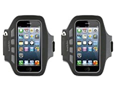 Belkin Ease-Fit Armband for iPhone 5/5s/5c - 2pk