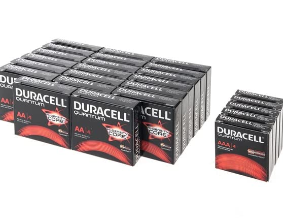 Duracell Quantum Aa Aaa Batteries 100 Pack