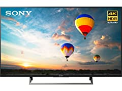 "Sony XBR-49X800E 49"" 4K Ultra HD Smart LED TV"