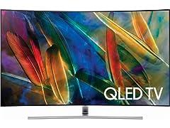Samsung (QN65Q7CDMFXZA) Curved QLED TV (Q7CD Series)